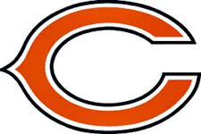 20 Water Slide Nail Decals Transfers Chicago Bears Football Logo