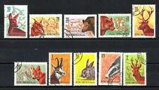 Roumanie 1961 Faune chasse (116) Yvert n° 1781 à 1790 oblitéré used