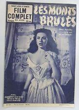 FILM COMPLET N° 412 LES MONTS BRULES Margaret LOCKWOOD Dennis PRICE Ruth ROMAN