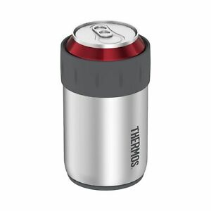 New THERMOS Stainless Steel Can Insulator 355ml Vacuum Insulation Koozies