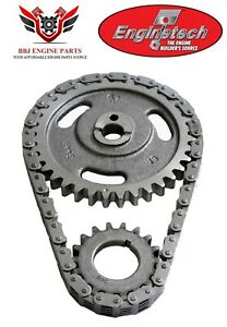 Ford 360 390 Fe 1974 – 1976 Enginetech 3 Piece Timing Chain Set