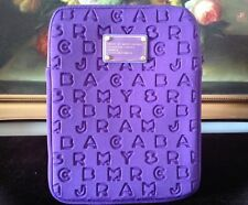 NWOT Marc by Marc Jacobs Neoprene iPad Sleeve Case Tablet Cover Purple