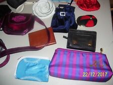 MIXED LOT OF WALLETS, COIN PURSES, COSMETIC BAGS, IPSY, ROLFS,  MODELLA, ROLFS +