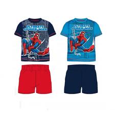 Ensemble Garçon T shirt et short  SPIDERMAN , Ensemble été SPIDERMAN