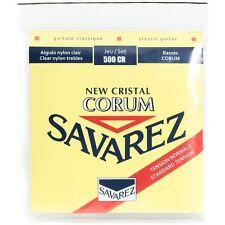Savarez 500-CR Cristal Corum Normal Tension Classical Acoustic Guitar Strings