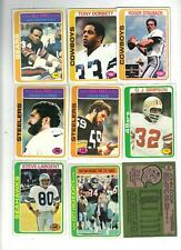 1978 Topps Football NRMT Almost Complete set (527/528)