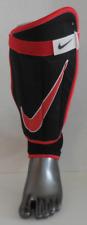 Nike Football Champ Tibia Protection Protège Noir/Rouge/Blanc Adulte Grand