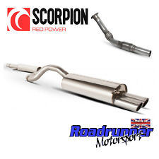 Scorpion Turbo Back Exhaust Golf GTi MK4 1.8T Inc Sports Cat Downpipe Resonated