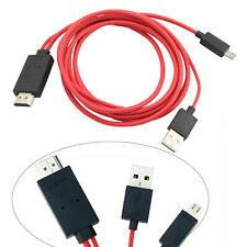 Micro USB MHL to HDMI Adapter Cable for Samsung Galaxy Tab S SM-T807A SM-T800