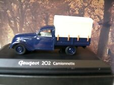 1/43  Norev   Peugeot 202 camionnette pick up