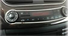 D Mercedes CLS C219 W219 Chrom Rahmen für Klimabedienteil - Edelstahl poliert