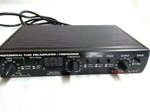 Art Professional TUBE PAC Tube Preamp Compressor. Works perfect, guaranteed