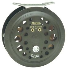 Martin CC61-BX Caddis Creek Fly Fishing Reel 50/20Lb 5/6Wt Backing Cap