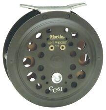 Martin CC61-BX Caddis Creek Fly Fishing Reel 50/20Lb 5/6Wt Backing Cap
