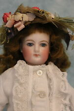 """13"""" Beautiful Antique French Fashion Doll FG by Francois Gaultier Size 1 c.1880"""