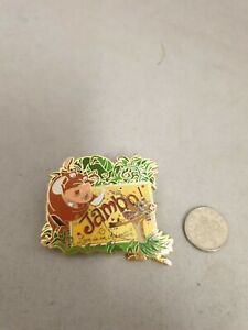Disney Pin Badge The Lion King Timone Pumba Jambo Limited Edition