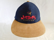 Jitters Coffee Baseball Cap Dad Hat Strapback 2 Two Tone