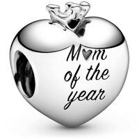 Genuine Pandora Sterling Silver Mum Of The Year Crown Charm 798823C00 NEW!