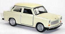 Trabant 601 beige Trabi Modellauto 1:34 ca. 12cm Neuware von WELLY Trabbi
