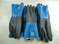 New Neoprene Gloves Package Of 3 Pair Size 10/Xl Xlarge Extra Large Apollo