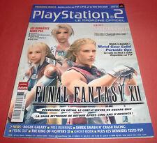 Playstation 2 Magazine [n°117 janv 2007] PS2 Two Final Fantasy XII *JRF