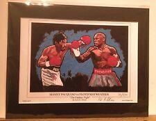 Boxing Pacquiao V Mayweather LTD EDTN de 250 ~ libre Froch V Groves 2