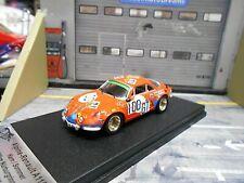 RENAULT Alpine A110 Nürburgring 1971 #100 GT Kern Sommer Trofeu Scala43 1:43