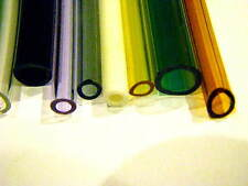 "Devardi Glass COE 33 Boro Tubing, 75 Colored Borosilicate 12"" Tubes Lampworking"
