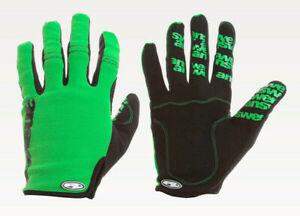 Answer WON Gloves B.C. Green/Black MTB NEW