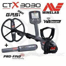 Minelab CTX 3030 CTX3030 GPS Metalldetektor + Minelab Pro Find 25