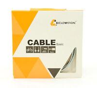 Ciclovation Basic Mountain/Road Bike Brake Cable, Zinc, 1.6mm x 1700mm