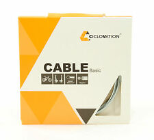 Ciclovation Basic Mountain/Road Bike Brake Cable, Zinc, 1.6mm x 1700mm