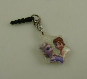 Frozen Anna Ana and Elsa Cell phone dust plug charm or Disney star shape