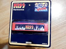 KISS HARMONICA RED NEW ON CARD