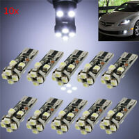 10x T10 3528LED 8SMD CANBUS Standlicht Lampe Innenraumbeleuchtung Birne 5