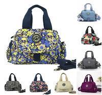 Ladies K18 Crinkle Nylon Lightweight Cross Body Grab Bag Girls Shoulder Handbag