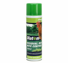 Diatom 500ml Spray  (diatomaceous earth) Red Mite Control chicken hen poultry