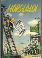 MORRIS / GOSCINNY . LUCKY LUKE N°6 . RÉÉDITION 4ème PLAT JAUNE . 1963 .