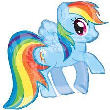 Party Supplies Girls Birthday MyLittle Pony Rainbow Dash Shape Foil Balloon