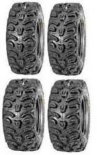 "KENDA BEAR CLAW HTR 8PLY RADIAL ATV 2 - 27X9-12 & 2 - 27X11-12 SET - 4 27"" TIRES"