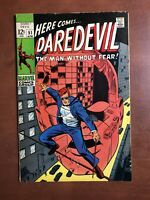 Daredevil #51 (1969) 7.5 VF Marvel Key Issue Silver Age Comic Book Stan Lee