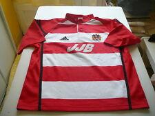 maillot de foot vintage Wigan Adidas XL rouge et blanc