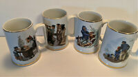 Norman Rockwell Porcelain Tankard Mug Seafarers Collection Sea Sailing Ship