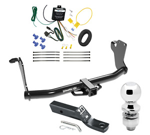 "Trailer Tow Hitch For 2019 Mitsubishi Eclipse Cross w/ Wiring Kit & 2"" Ball"