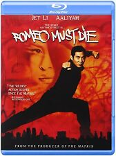 ROMEO MUST DIE (Jet Li, Aaliyah)   -  Blu Ray - Sealed Region free