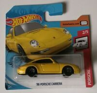 '96 Porsche Carrera Turbo Hot Wheels 2020 Case G Porsche 2/5 Mattel