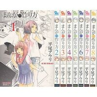 Manga of how to make Vol.1-8 Comics Complete Set Japan Comic F/S