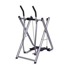 Fitness Glider Exercise Machine Elliptical Sports Trainer Speed Air Walk Steps