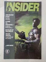 DARK HORSE COMICS INSIDER #7 JULY 1992 ARMY OF DARKNESS PREVIEW! JOHN BOLTON COV