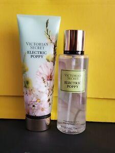 Set Victoria's Secret Fragrance Mist & Lotion 8.4fl Oz - ELECTRIC POPPY